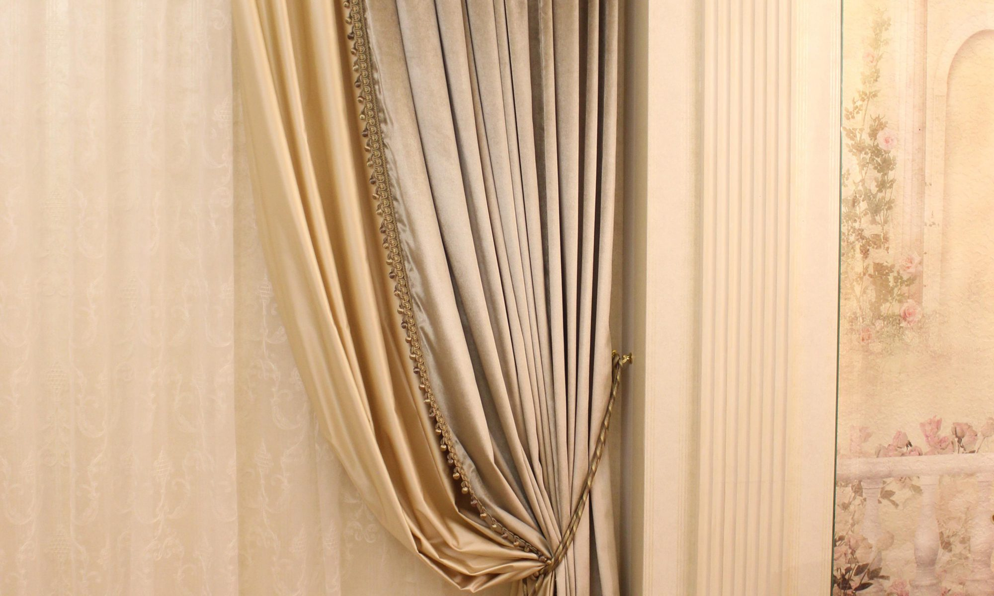 шторы в гостиной