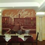 роспись стен в ресторане