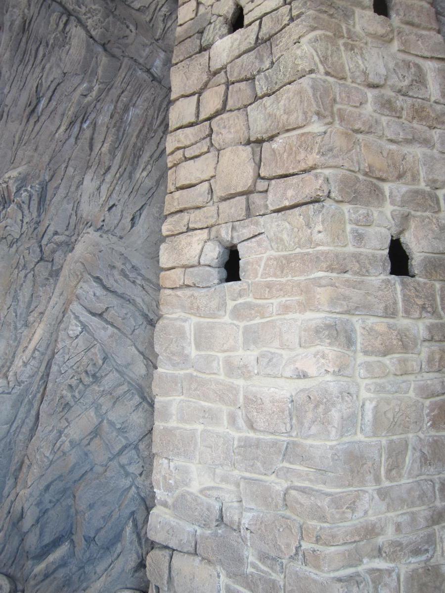 фрагмент рельефного пано