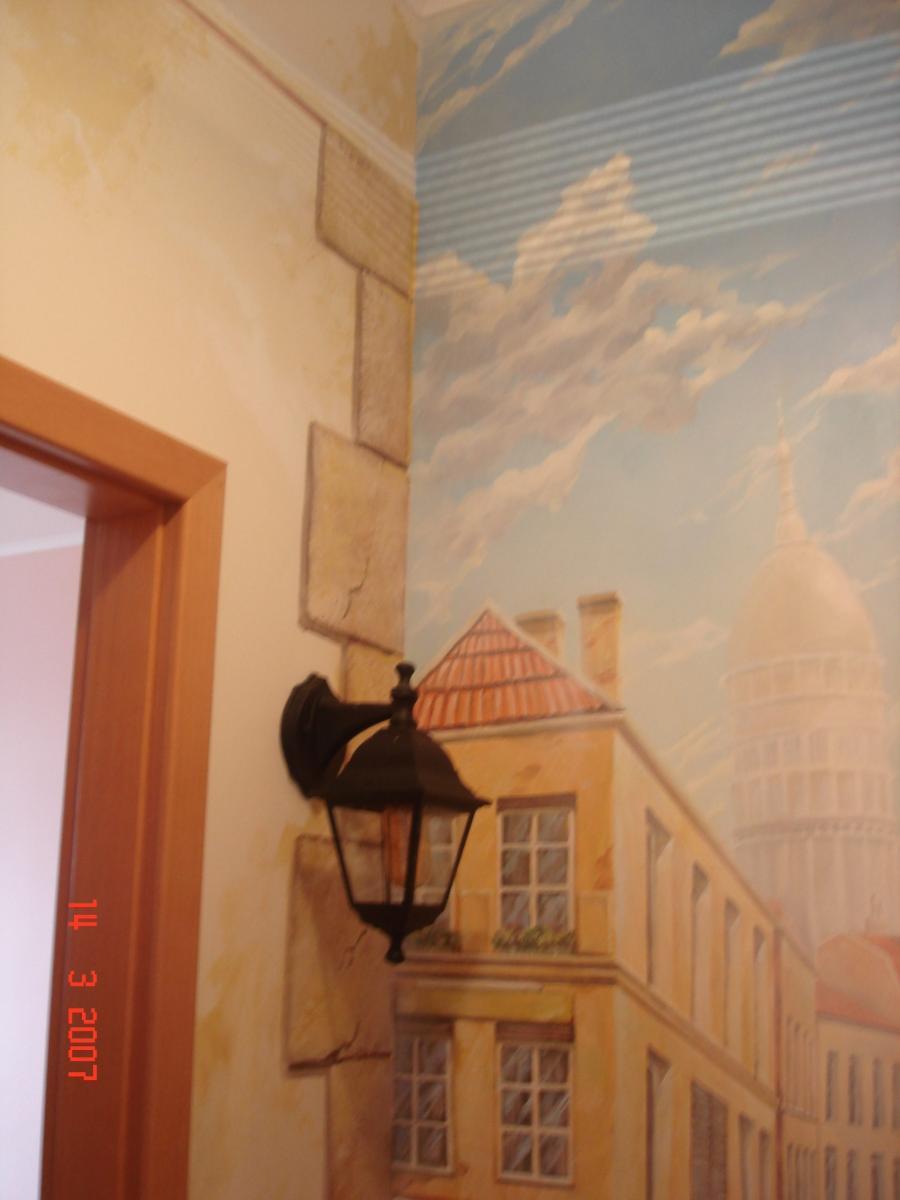роспись стен в квартире цена